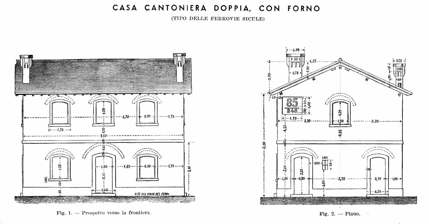 Asn leggi argomento disegni casello fs for Disegni della casa della cabina di ceppo